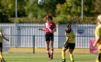 Southampton, ENGLAND - SEPTEMBER 27: Molly Mott of Southampton during the FAWNL match between Southampton Women and Buckland Athletic at Snows Stadium on September 27, 2020 in Southampton, United Kingdom (Photo by Isabelle Field/Southampton FC via Getty Images)