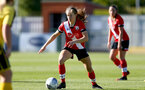 Southampton, ENGLAND - SEPTEMBER 27: Lucia Kendall of Southampton during the FAWNL match between Southampton Women and Buckland Athletic at Snows Stadium on September 27, 2020 in Southampton, United Kingdom (Photo by Isabelle Field/Southampton FC via Getty Images)