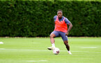 SOUTHAMPTON, ENGLAND - SEPTEMBER 30: Michael Obafemi during a Southampton FC training session at the Staplewood Campus on September 30, 2020 in Southampton, England. (Photo by Matt Watson/Southampton FC via Getty Images)
