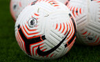 SOUTHAMPTON, ENGLAND - OCTOBER 02: Premier League footballs during a Southampton FC training session at the Staplewood Campus on October 02, 2020 in Southampton, England. (Photo by Matt Watson/Southampton FC via Getty Images)