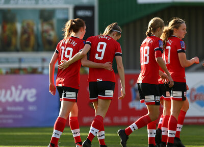 Women's Gallery: Saints 3-0 Exeter