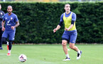 SOUTHAMPTON, ENGLAND - OCTOBER 21: Oriol Romeu during a Southampton FC Training session at the Staplewood Complex on October 21, 2020 in Southampton, England. (Photo by Isabelle Field/Southampton FC via Getty Images)