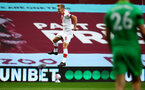 BIRMINGHAM, ENGLAND - NOVEMBER 01: James Ward-Prowse of Southampton goal celebration after scoring free kick during the Premier League match between Aston Villa and Southampton at Villa Park on November 01, 2020 in Birmingham, England. Sporting stadiums around the UK remain under strict restrictions due to the Coronavirus Pandemic as Government social distancing laws prohibit fans inside venues resulting in games being played behind closed doors. (Photo by Matt Watson/Southampton FC via Getty Images)