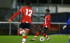 SOUTHAMPTON, ENGLAND - NOVEMBER 02: Kgaogelo Chauke of Southampton during the Hampshire FA Senior Cup semi-final between Eastleigh FC and Southampton FC B Team at Silverlake Stadium on November 02, 2020 in Southampton, England. (Photo by Isabelle Field/Southampton FC via Getty Images) (Photo by Isabelle Field/Isabelle Field)