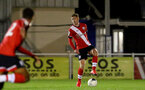 SOUTHAMPTON, ENGLAND - NOVEMBER 02: Kameron Ledwidge of Southampton during the Hampshire FA Senior Cup semi-final between Eastleigh FC and Southampton FC B Team at Silverlake Stadium on November 02, 2020 in Southampton, England. (Photo by Isabelle Field/Southampton FC via Getty Images) (Photo by Isabelle Field/Isabelle Field)