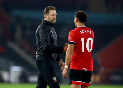 Hasenhüttl hails hard-working Adams