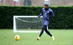 SOUTHAMPTON, ENGLAND - NOVEMBER 21: Kyle Walker-Peters during a Southampton FC training session at the Staplewood Campus on November 21, 2020 in Southampton, England. (Photo by Matt Watson/Southampton FC via Getty Images)