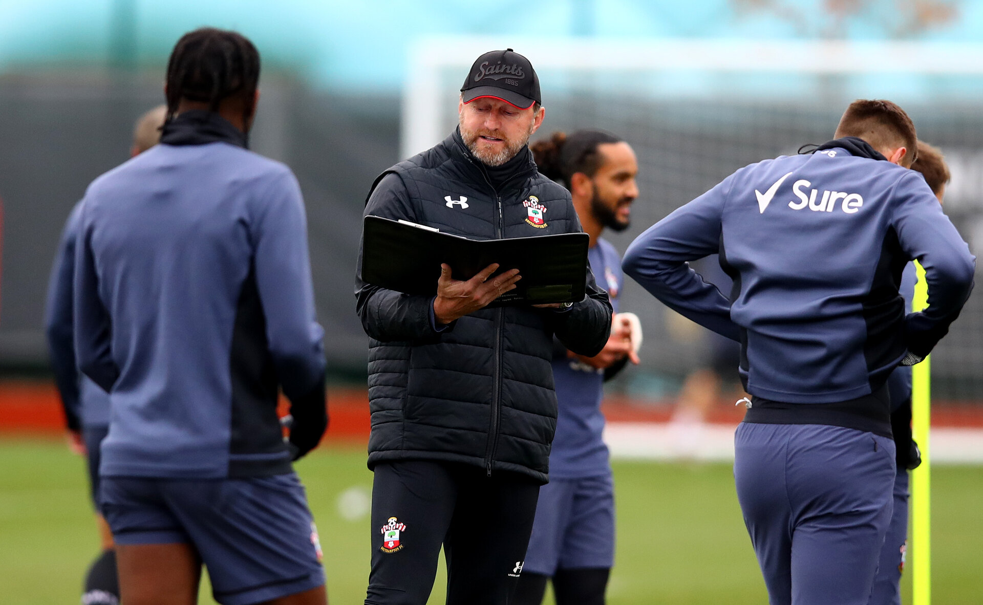 SOUTHAMPTON, ENGLAND - NOVEMBER 26: Ralph Hasenhüttl during a Southampton FC training session at the Staplewood Campus on November 26, 2020 in Southampton, England. (Photo by Matt Watson/Southampton FC via Getty Images)