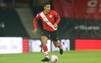 SOUTHAMPTON, ENGLAND - NOVEMBER 30: Yan Valery of Southampton during the Premier League 2 match between Southampton FC B Team and Brighton & Hove Albion at the St Mary's Stadium on November 30, 2020 in Southampton, England. (Photo by Isabelle Field/Southampton FC via Getty Images)