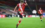 SOUTHAMPTON, ENGLAND - NOVEMBER 30: Jake Vokins of Southampton during the Premier League 2 match between Southampton FC B Team and Brighton & Hove Albion at the St Mary's Stadium on November 30, 2020 in Southampton, England. (Photo by Isabelle Field/Southampton FC via Getty Images)