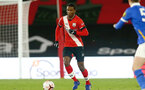 SOUTHAMPTON, ENGLAND - NOVEMBER 30: Ibrahima Diallo of Southampton during the Premier League 2 match between Southampton FC B Team and Brighton & Hove Albion at the St Mary's Stadium on November 30, 2020 in Southampton, England. (Photo by Isabelle Field/Southampton FC via Getty Images)
