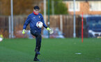 SOUTHAMPTON, ENGLAND - DECEMBER 03 : Oliver Wright during Southampton U18s training session at Staplewood Complex on December 03, 2020 in Southampton, England. (Photo by Isabelle Field/Southampton FC via Getty Images)