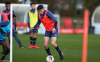 SOUTHAMPTON, ENGLAND - DECEMBER 03 : Will Tizzard during Southampton U18s training session at Staplewood Complex on December 03, 2020 in Southampton, England. (Photo by Isabelle Field/Southampton FC via Getty Images)