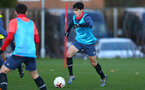SOUTHAMPTON, ENGLAND - DECEMBER 03 : Marco Rus during Southampton U18s training session at Staplewood Complex on December 03, 2020 in Southampton, England. (Photo by Isabelle Field/Southampton FC via Getty Images)