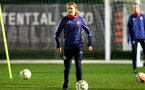 SOUTHAMPTON, ENGLAND - DECEMBER 09 : Lucia Kendall during Southampton Women's training session at Staplewood Complex on December 09, 2020 in Southampton, England. (Photo by Isabelle Field/Southampton FC via Getty Images)  (Photo by Isabelle Field/Southampton FC via Getty Images)