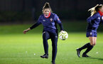 SOUTHAMPTON, ENGLAND - DECEMBER 09 : Sara Luce during Southampton Women's training session at Staplewood Complex on December 09, 2020 in Southampton, England. (Photo by Isabelle Field/Southampton FC via Getty Images)  (Photo by Isabelle Field/Southampton FC via Getty Images)