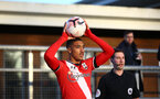 SOUTHAMPTON, ENGLAND - DECEMBER 12: Yan Valery of Southampton during the Premier League 2 match between Southampton B Team and Leicester City at Snows Stadium on December 12, 2020 in Southampton, England. (Photo by Isabelle Field/Southampton FC via Getty Images)