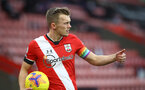 SOUTHAMPTON, ENGLAND - DECEMBER 13: James Ward-Prowse of Southampton wearing the rainbow captains armband during the Premier League match between Southampton and Sheffield United at St Mary's Stadium on December 13, 2020 in Southampton, England. A limited number of spectators (2000) are welcomed back to stadiums to watch elite football across England. This was following easing of restrictions on spectators in tiers one and two areas only. (Photo by Matt Watson/Southampton FC via Getty Images)