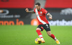 SOUTHAMPTON, ENGLAND - DECEMBER 13: Danny Ings of Southampton during the Premier League match between Southampton and Sheffield United at St Mary's Stadium on December 13, 2020 in Southampton, England. A limited number of spectators (2000) are welcomed back to stadiums to watch elite football across England. This was following easing of restrictions on spectators in tiers one and two areas only. (Photo by Matt Watson/Southampton FC via Getty Images)