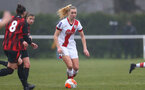 WIMBORNE, ENGLAND - DECEMBER 13: Kelly Snook of Southampton  during The Vitality Women's FA Cup, first-round proper match between AFC Bournemouth and Southampton FC Women's at Verwood FC on December 13, 2020 in, Wimborne, England. (Photo by Isabelle Field/Southampton FC via Getty Images)