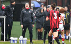 WIMBORNE, ENGLAND - DECEMBER 13: Marieanne Spacey-Cale  during The Vitality Women's FA Cup, first-round proper match between AFC Bournemouth and Southampton FC Women's at Verwood FC on December 13, 2020 in, Wimborne, England. (Photo by Isabelle Field/Southampton FC via Getty Images)