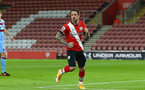 SOUTHAMPTON, ENGLAND - DECEMBER 29: Danny Ings of Southampton during the Premier League match between Southampton and West Ham United at St Mary's Stadium on December 29, 2020 in Southampton, England. The match will be played without fans, behind closed doors as a Covid-19 precaution. (Photo by Matt Watson/Southampton FC via Getty Images)