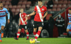 SOUTHAMPTON, ENGLAND - DECEMBER 29: Jan Bednarek of Southampton during the Premier League match between Southampton and West Ham United at St Mary's Stadium on December 29, 2020 in Southampton, England. The match will be played without fans, behind closed doors as a Covid-19 precaution. (Photo by Matt Watson/Southampton FC via Getty Images)