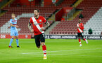SOUTHAMPTON, ENGLAND - DECEMBER 29: Danny Ings of Southampton strikes but is ruled offside during the Premier League match between Southampton and West Ham United at St Mary's Stadium on December 29, 2020 in Southampton, England. (Photo by Matt Watson/Southampton FC via Getty Images)