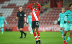 SOUTHAMPTON, ENGLAND - JANUARY 04: Nathan Tella of Southampton during the Premier League match between Southampton and Liverpool at St Mary's Stadium on January 04, 2021 in Southampton, England. (Photo by Matt Watson/Southampton FC via Getty Images)