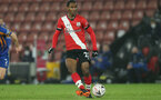 SOUTHAMPTON, ENGLAND - JANUARY 19: Ibrahima Diallo of Southampton during the FA Cup Third Round match between Southampton and Shrewsbury Town on January 19, 2021 in Southampton, England. Sporting stadiums around the UK remain under strict restrictions due to the Coronavirus Pandemic as Government social distancing laws prohibit fans inside venues resulting in games being played behind closed doors. (Photo by Matt Watson/Southampton FC via Getty Images)