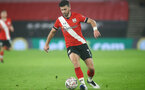 SOUTHAMPTON, ENGLAND - JANUARY 19: Shane Long of Southampton during the FA Cup Third Round match between Southampton and Shrewsbury Town on January 19, 2021 in Southampton, England. Sporting stadiums around the UK remain under strict restrictions due to the Coronavirus Pandemic as Government social distancing laws prohibit fans inside venues resulting in games being played behind closed doors. (Photo by Matt Watson/Southampton FC via Getty Images)