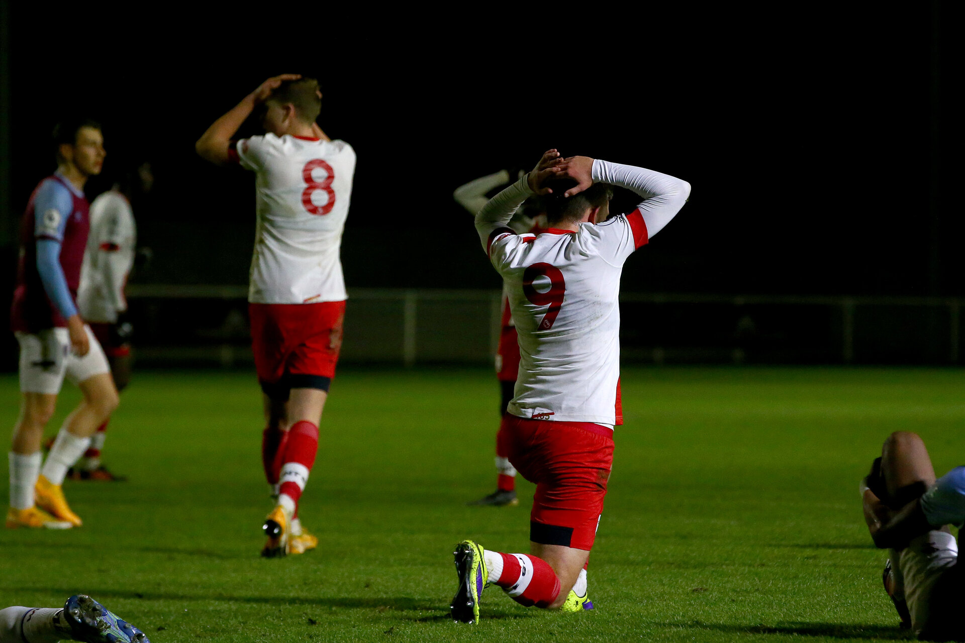 LONDON, ENGLAND - JANUARY 29: during the Premier League 2 match between West Ham United and Southampton B Team at Rush Green Training Ground on January 29, 2021 in London, England. (Photo by Isabelle Field/Southampton FC via Getty Images)