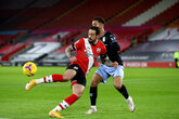 Saints suffer Villa defeat