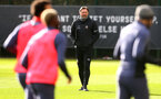 SOUTHAMPTON, ENGLAND - FEBRUARY 05, Southampton manager Ralph Hasenhüttl during a Southampton FC training session at the Staplewood Campus, on February 05, 2021 in Southampton, England. (Photo by Matt Watson/Southampton FC via Getty Images)