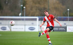 SOUTHAMPTON, ENGLAND - FEBRUARY 21: James Morris of Southampton during Premier League 2 match between Southampton B Team and Derby County U23s at The Snows Stadium on February 21, 2021 in Southampton, England. (Photo by Isabelle Field/Southampton FC via Getty Images)