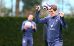 SOUTHAMPTON, ENGLAND - FEBRUARY 22: Jannik Vestergaard during a Southampton FC training session at the Staplewood Campus on February 22, 2021 in Southampton, England. (Photo by Matt Watson/Southampton FC via Getty Images)