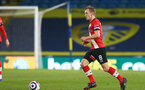 LEEDS, ENGLAND - FEBRUARY 23: James Ward-Prowse of Southampton during the Premier League match between Leeds United and Southampton at Elland Road on February 23, 2021 in Leeds, England. Sporting stadiums around the UK remain under strict restrictions due to the Coronavirus Pandemic as Government social distancing laws prohibit fans inside venues resulting in games being played behind closed doors. (Photo by Matt Watson/Southampton FC via Getty Images)