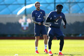 Gallery: Pre-Everton workout