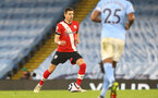 MANCHESTER, ENGLAND - MARCH 10: Jan Bednarek of Southampton during the Premier League match between Manchester City and Southampton at Etihad Stadium on March 10, 2021 in Manchester, England. Sporting stadiums around the UK remain under strict restrictions due to the Coronavirus Pandemic as Government social distancing laws prohibit fans inside venues resulting in games being played behind closed doors. (Photo by Matt Watson/Southampton FC via Getty Images)