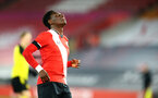 SOUTHAMPTON, ENGLAND - MARCH 23: Kazeem Olaigbe of Southampton during the FA Youth Cup fourth round match between Southampton and Burton Albion at St Mary's Stadium on March 23, 2021 in Southampton, England. (Photo by Isabelle Field/Southampton FC via Getty Images)