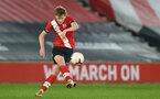 SOUTHAMPTON, ENGLAND - MARCH 23: Ryan Finnigan of Southampton during the FA Youth Cup fourth round match between Southampton and Burton Albion at St Mary's Stadium on March 23, 2021 in Southampton, England. (Photo by Isabelle Field/Southampton FC via Getty Images)