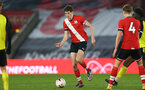 SOUTHAMPTON, ENGLAND - MARCH 23: Will Tizzard of Southampton during the FA Youth Cup fourth round match between Southampton and Burton Albion at St Mary's Stadium on March 23, 2021 in Southampton, England. (Photo by Isabelle Field/Southampton FC via Getty Images)