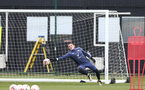 SOUTHAMPTON, ENGLAND - MARCH 24: Tommy Scott during Southampton B Team training session at Staplewood Complex on March 24, 2021 in Southampton, England. (Photo by Isabelle Field/Southampton FC via Getty Images)