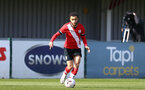 SOUTHAMPTON, ENGLAND - MARCH 27: Jayden Smith of Southampton during the Premier League U18s match between Southampton U18 and  Chelsea at Snows Stadium on March 27, 2021 in Southampton, England. (Photo by Isabelle Field/Southamtpon FC)