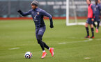 SOUTHAMPTON, ENGLAND - MARCH 31: Nathan Redmond during a Southampton FC training session at the Staplewood Campus on March 31, 2021 in Southampton, England. (Photo by Matt Watson/Southampton FC via Getty Images)