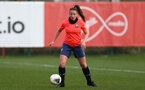SOUTHAMPTON, ENGLAND - April 01: Kirsty Whitton during Southampton Women's training session at Staplewood Complex on April 01, 2021 in Southampton, England.  (Photo by Isabelle Field/Southampton FC via Getty Images)