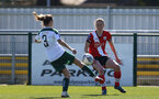 SOUTHAMPTON, ENGLAND - APRIL 04: Rachel Panting of Southampton during the Vitality Women's FA Cup second round match between Southampton Women and Plymouth Argyle Women at The Snows Stadium on April 04, 2021 in Southampton, England. (Photo by Isabelle Field/Southampton FC via Getty Images)