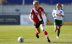 SOUTHAMPTON, ENGLAND - APRIL 04: Kelly Snook of Southampton during the Vitality Women's FA Cup second round match between Southampton Women and Plymouth Argyle Women at The Snows Stadium on April 04, 2021 in Southampton, England. (Photo by Isabelle Field/Southampton FC via Getty Images)