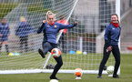 SOUTHAMPTON, ENGLAND - OCTOBER 21: Kayla Rendall during Southampton Women's training session at Staplewood Complex on October 21, 2020 in Southampton, England. (Photo by Isabelle Field/Southampton FC via Getty Images)