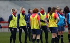 SOUTHAMPTON, ENGLAND - OCTOBER 21: during Southampton Women's training session at Staplewood Complex on October 21, 2020 in Southampton, England. (Photo by Isabelle Field/Southampton FC via Getty Images)